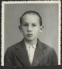 Mr. Karel Landstoffel, child portrait