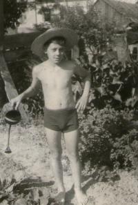 Antonín Bělař in 1956