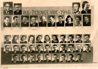 Class of Antonín Bělař sr. (top left)