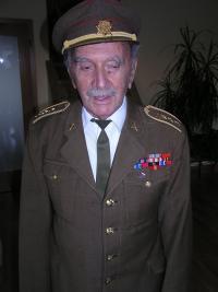 Jánský Alfred v uniformě z druhé světové války