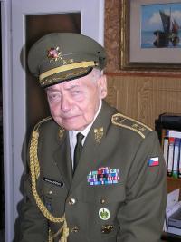 Miroslav Kácha at home in Prague September 2006