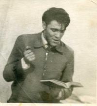 György Dalos in Moscow, 1963