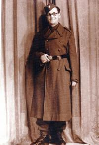 Doing military service, 1946