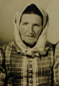 Granny Langová, South-Moravian region, undated
