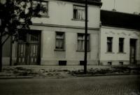The house, where a witness grew up in Horní Heršpice after 1950