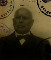 Grandpa Rochus Nachtigall, South-Moravian region before 1945