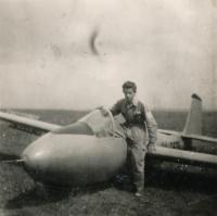 Jindřich Leinweber (Skuteč Aviation Club, 1956)