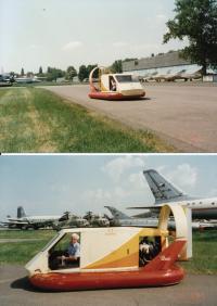Jindřich Leinweber's Hovercraft (1970s)
