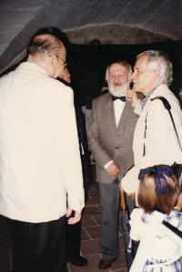 J.Srnec on the right, Bohumil Žemlička in the middle, 1997