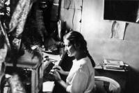 Roza Hodosan types samizdat manuscript