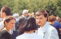 Róza Hodosán and Gábor Demszky, 1988. June 16,