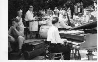 Members of Siloš Pohánka Orchestra in 1959