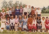 David Kabzan in 1983, top row, third from the left