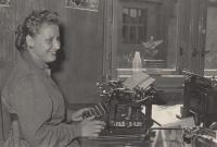 Hana Krusinova working