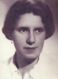 mother of Hana, Milada Krusinova, killed october 1942