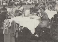 Velká Chuchle in Prague, family trip 1937