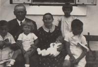 Horní Čermná, holiday 1934, hana baby