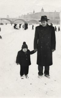 Hryzlík Jiří with daughter
