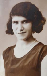 Mother Emile Fischerová (Grünbaumová)