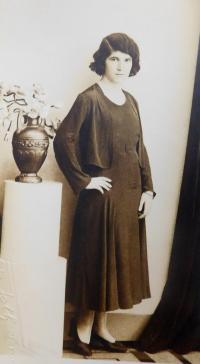Mother Emilie Fischerová (Grünbaumová)