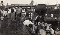 """Filming of """"Operation Kalimantan"""" in 1961 in Indonesia"""