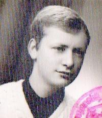 Tadeusz Wantuła as a young man