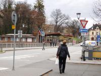 Border crossing in Cieszyn - Český Těšín