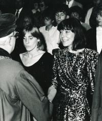Helena Kašperová - promoce 1988