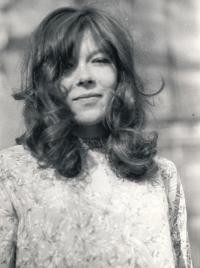 Helena Kasperova in the sixties