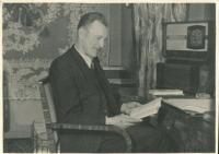 Father of the witness Vladimír Hnitka, Prague, 1944