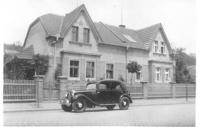 Granny Marie Hnitková´s house before the air raid, Kralupy on Vltava, March 1944