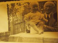 With grandfather Valeš