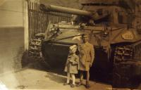 Before American tank, 1945
