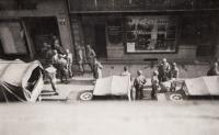 Liberation, Prešovská street, Pilsen, 1945