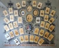 Pamětní tablo polského klubu