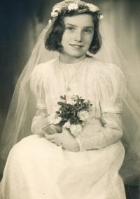 1. přijímání, Bibiana cca 1942-1943