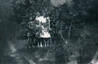 1943, Marie, Bibiana, Janina