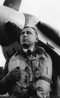 Stanislav Rejthar u spitfiru