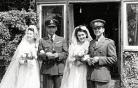 Společná svatba sester Horníčkových