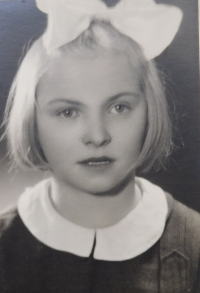 One of forty-two children from Death Valley at the Dukla Pass, which Květoslava Barton arranged stay in Olomouc in the years 1946 -47