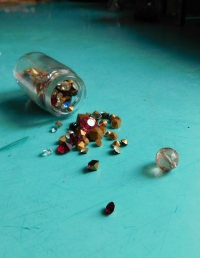 Beads, which produced aunt in prison witness nun Anna Remigius Axmanová