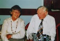 Květoslava Barton and her husband Jaroslav Barton
