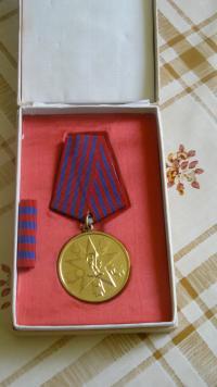 Medal of Merit received by Balaić