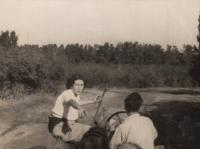 První rok v kibucu, 1949-1950