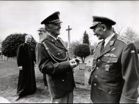 Václav Straka a generál Antonín Špaček