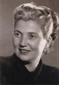 Aunt Micka, wife of uncle Barna