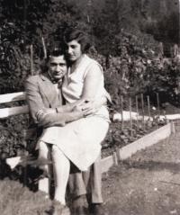 Parents Blanka and Dezider Róna