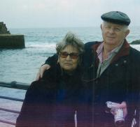 With husband Zeev Beery