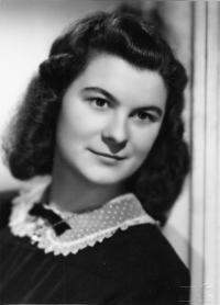Dagmar Prochazkova, née Weitzenbauerova in 1948