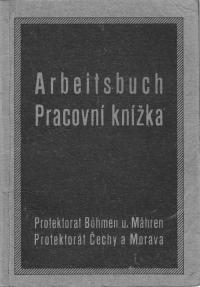 Work history of wartime of D. Procházkova nee Weitzenbauerova
